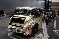 Rolls Royce vieja después del accidente Fotografía de archivo libre de regalías