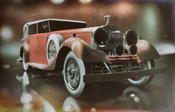 Rolls Royce Vintage Concept Royalty Free Stock Image