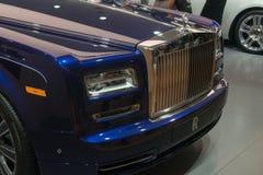 Rolls-Royce Wraith 'Inspired by Music' - world premiere. Frankfurt international motor show (IAA) 2015. Rolls-Royce Wraith 'Inspired by Music Royalty Free Stock Image