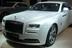 Rolls-Royce Wraith – Inspired by Fashion. Rolls-Royce Wraith – Inspired by Fashion,Chengdu Motor Show,China Stock Images