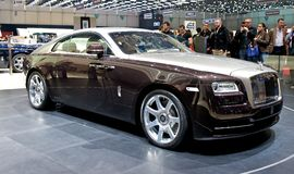 Rolls Royce Wraith 2014 Stock Images