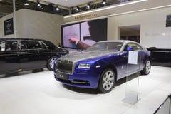 Rolls-royce wraith car Stock Images