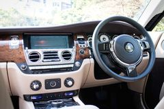 Rolls-Royce Wraith drive bay Royalty Free Stock Photos