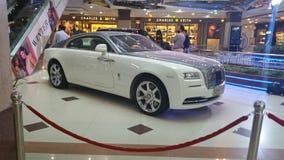 Rolls Royce Wraith en la alameda fotografía de archivo libre de regalías