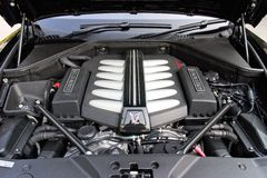 Rolls-Royce Wraith engine Royalty Free Stock Photography