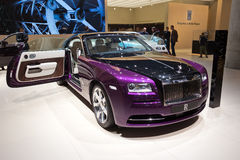 Rolls Royce Wraith. FRANKFURT, GERMANY - SEP 13, 2013: Rolls Royce Wraith at the IAA motor show Stock Photography