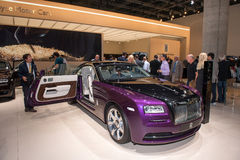 Rolls-Royce Wraith. Frankfurt international motor show (IAA) 2013. Rolls-Royce Wraith Royalty Free Stock Photos
