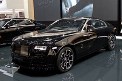 Rolls-Royce Wraith at Geneva 2016. Geneva 86th Salon de l`auto Stock Photography