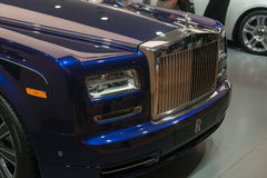 Rolls-Royce Wraith 'Inspired by Music' - world premiere. Royalty Free Stock Image