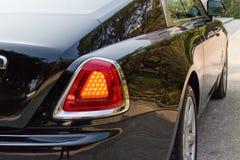 Rolls-Royce Wraith led back light Royalty Free Stock Images