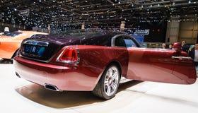 Rolls-Royce Wraith, Motor Show Geneva 2015. Stock Photo
