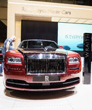 Rolls-Royce Wraith, Motor Show Geneva 2015. Rolls-Royce Wraith at the 85th International Geneva Motor Show in Palexpo, Switzerland Stock Photography