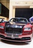 Rolls-Royce Wraith, Motor Show Geneva 2015. Stock Photos