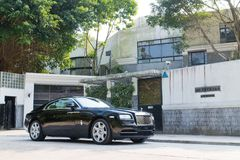 Rolls-Royce Wraith. Top Class Sedan 2014 Model Stock Image