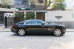 Rolls-Royce Wraith. Top Class Sedan 2014 Model Stock Photos
