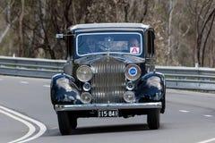 1937 Rolls Royce 25/30 Zaal Stock Foto's