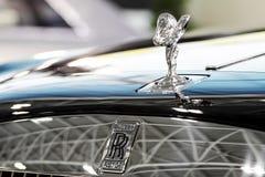 Rolls Royce-Zeichen Stockfotos