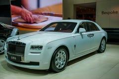 Rolls- Royceauto-Reihe Lizenzfreies Stockfoto