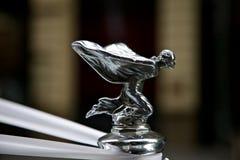Rolls- Royceemblem auf Auto Lizenzfreie Stockfotografie