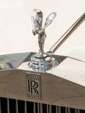 Rolls- Roycemaskottchen Lizenzfreies Stockfoto