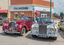 Rolls Royces at the Woodward Dream Cruise Royalty Free Stock Images