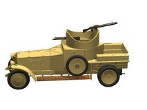 Rolls Roys armoured car Royalty Free Stock Photography