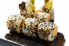 Rolls with sesame Royalty Free Stock Photo