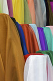 Rolls of Silk royalty free stock image