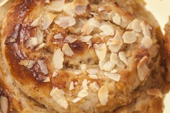 Rolls stuffed apple and almonds series 02 Royalty Free Stock Photography