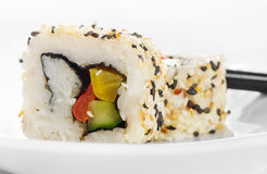Rolls of sushi Royalty Free Stock Photo