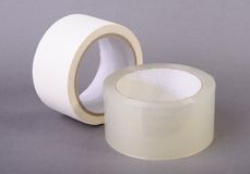 Rolls of tape Royalty Free Stock Photos