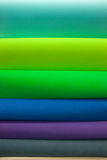 Rolls of textile Stock Photography