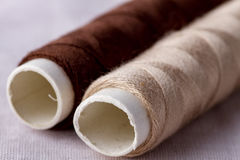 Rolls of thread Stock Photo
