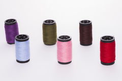 Rolls of thread. Royalty Free Stock Photo