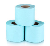 Rolls of toilet paper Stock Image