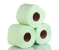 Rolls of toilet paper Royalty Free Stock Photos