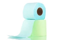 Rolls of toilet paper Stock Photos