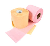 Rolls of toilet paper Royalty Free Stock Image