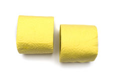 Rolls of toilet paper Stock Photography