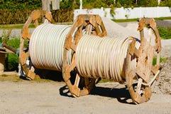 Rolls of tubing Stock Image