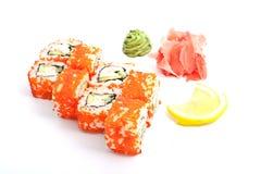 Rolls und Sushi Lizenzfreies Stockfoto