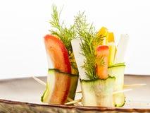 Rolls vegetal Imagenes de archivo