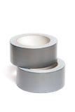 Rolls of white adhesive tape Stock Image