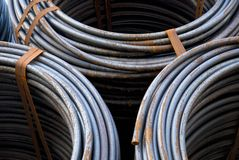 Rolls of wire Royalty Free Stock Photo
