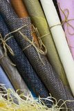 Rolls of wrapping paper Royalty Free Stock Photo
