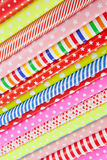 Rolls of wrapping paper Royalty Free Stock Images
