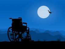 Rollstuhl lizenzfreie abbildung