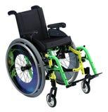 Rollstuhl des Kindes Stockfotografie