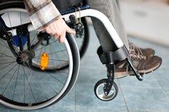 Rollstuhlbenutzer Lizenzfreies Stockfoto