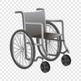 Rollstuhlikone, Karikaturart lizenzfreie abbildung